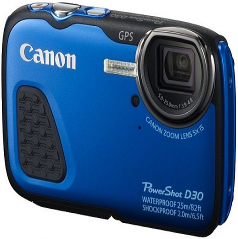 Canon PowerShot Waterproof Digital Camera