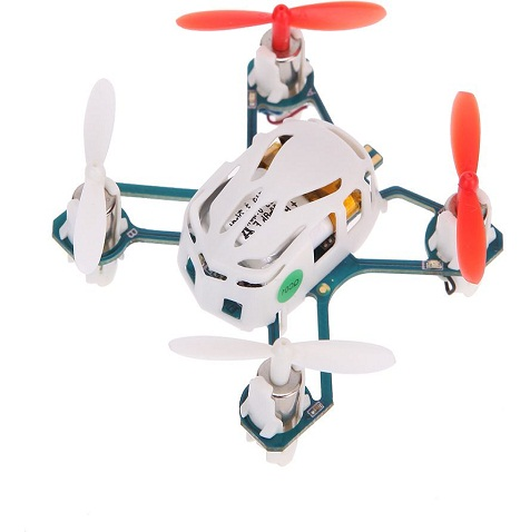 Mini 4 Channel RC Quadcopter with 2.4GHz Radio System