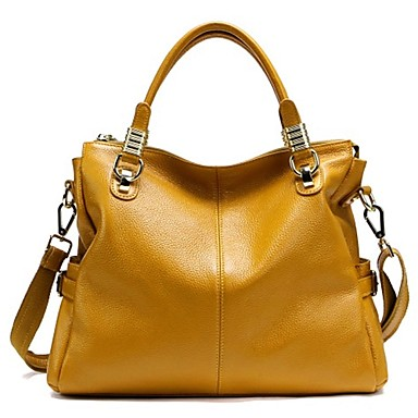 Paste® Hot Sale Simple Style Woman Genuine Leather Handbag- Bags