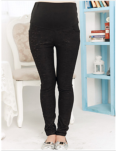 Women's Maternity Skinny Pants Stretchy Spring / Summer / Fall- Maternity Bottoms