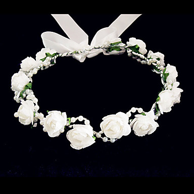 Women's Flower Girl's Foam Headpiece-Wedding Special Occasion Casual Flowers- Headpieces
