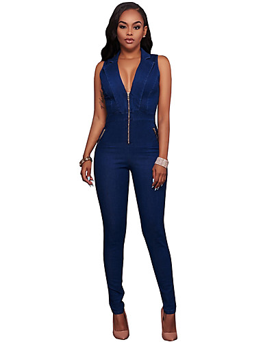Slim Jumpsuits