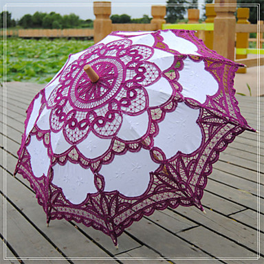 Vintage Lace Parasols Bridal Umbrella (More Colors)- Wedding Umbrellas