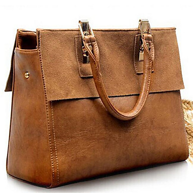 Women Cowhide Casual / Outdoor Tote- Totes