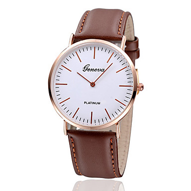 Women's Fashion Diamond Two Needle Strap Watch Quartz Analog Leather Wrist Watch(Assorted Colors) Cool Watches Unique Watches- Women's Watches