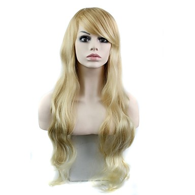 32 Inch Long Elegant Wave Heat Resistant Fiber Synthetic Celebrity Wig- Wigs & Hair Extensions