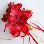 """Wedding Flowers Round Roses Bouquets Wedding Party/ Evening Satin Foam 7.87""""(Approx.20cm)- Wedding Flowers"""