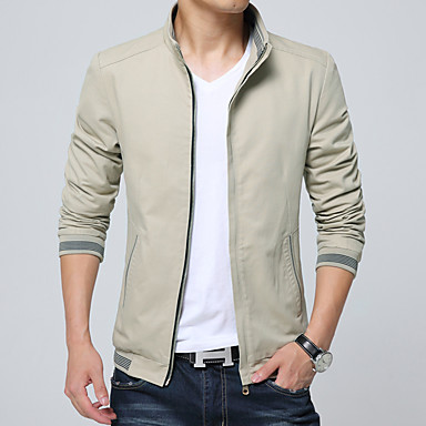 2016 spring and autumn new men's coat jacket young men's casual Korean Slim thin section- Men's Jackets & Coats