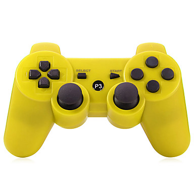 Wireless Joystick Bluetooth DualShock3 Sixaxis Rechargeable Controller for PS3 Multicolor- PS3 Accessories