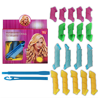 Curling Iron Wet & Dry Curl Enhancing Hollowed Normal- Hair Rollers