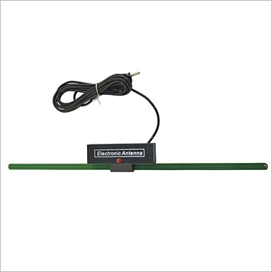 Universal LS-065 TV Car FM Radio Antenna - Black- Antenna Toppers
