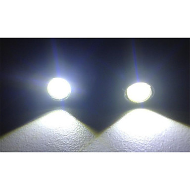 10pcs 18MM 9W White Red Blue yellow Led Eagle Eye Light Daytime Running Drl Backup Car- Car Tail Lights