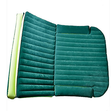 Car Mattress air bed Double(180*128*12cm)Flocking Portable Inflatable Comfortable- Seat Accessories