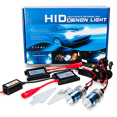 12V 55W H7 AC Hid Xenon Conversion Kit 10000K- Car Lights