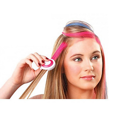 4 Colors Temporary Hair Chalk DIY Hair Styling Easy Color Easy Wash- Hair Color