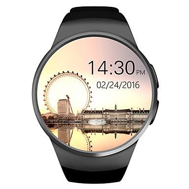 New Smart Watch Phone W18 MTK2502C 1.3 Inch Round Screen IPS LCD 240X240 Bluetooth 4.0 Anti-lost Alert- Smartwatches