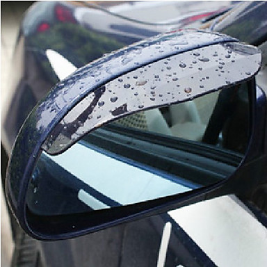 2X Car Rearview Mirror Rain Water Eyebrows Cover Side Shield- Car Stickers