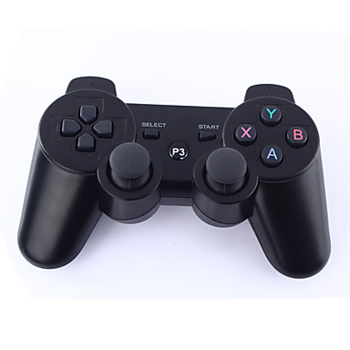 Dual-Shock 3 Bluetooth Wireless Controller for PS3 (Black)- PS3 Accessories