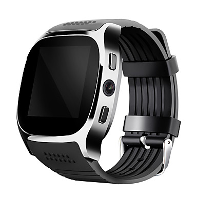 Smart Watch T8 Clock With Sim Card Slot 2.0 MP Camera Push Message Bluetooth Connectivity Android Phone Smartwatch T8- Smartwatches