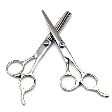 Professional Stainless Hairdressing Scissors Set Kit Barber Hair Thinning- Tools & Accessories
