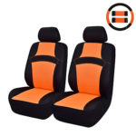 6 Pcs Universal Rainbow Car Seat Covers Orange/Pink/Blue/Green Summer Car Seat covers- Seat Accessories