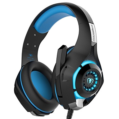 GM-1 3.5mm Game Gaming Headphone Headset Earphone Headband with Microphone LED Light for PS4/XBOX ONE/PC/IPhone- PS4 Accessories