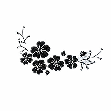 Hibiscus Flowers Car Stickers