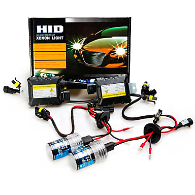 12V 55W H7 Hid Xenon Conversion Kit 6000K- Car Lights