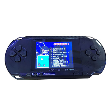 16 Bit Handheld Retro Portable Video Console Electronic LCD Game Player PXP3- Game Consoles