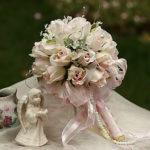 16cm Dia Wedding Bouquet Wedding Bride Holding Flowers