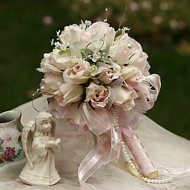 16cm Dia Wedding Bouquet Wedding Bride Holding Flowers