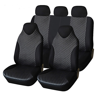 AUTOYOUTH PU Leather Car Seat Cover 7pcs Universal Fits Non- Detachable Headrest Car Styling Car Seat Covers- Seat Accessories