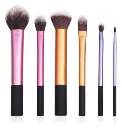 6 Peices Professional Cosmetic Makeup Brushes Foundation Buffer Brush