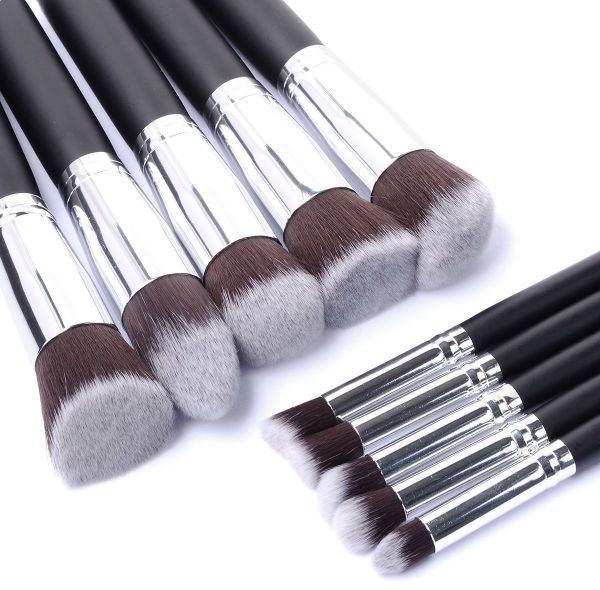10Pcs Makeup Brushes Professional Cosmetic Make Up Brush