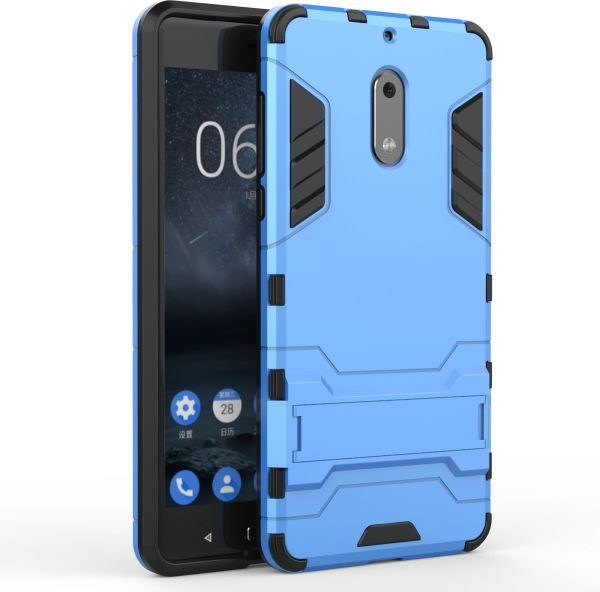 low cost 28762 3de31 Nokia 6 Hybrid Armor Protective Case Housing ShockProof Cover