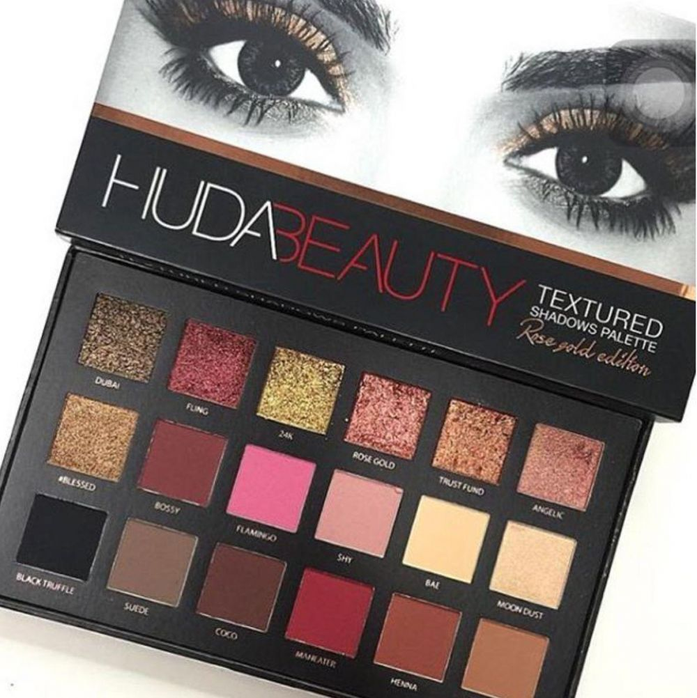 HUDA BEAUTY -Eyeshadow Palette - Rose Gold Edition