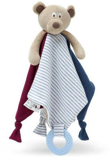 Infant Bear Appease Towel Newborn Teether Towel Christmas Gifts Baby Educational Plush Toy Cute Bear Dolls