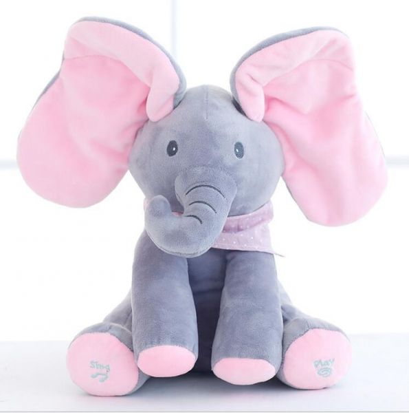 Animated Flappy The Elephant Plush Toy