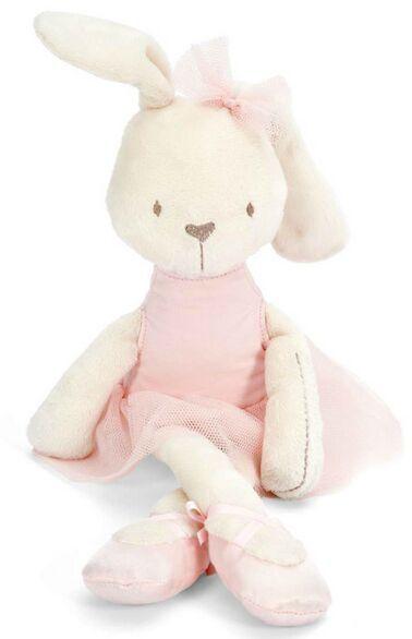 Baby pink princess rabbit Comforter Toys
