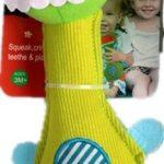 Stuffed Hand bells of BIBI Bar Animal Squeaker for Baby development