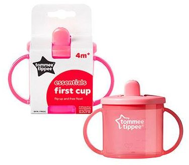 Tommee Tippee TT43111050Pink Essential Basics First Cup