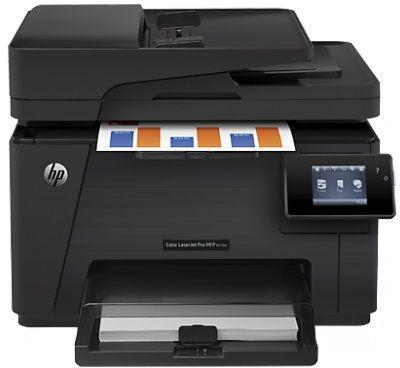HP Color LaserJet Pro MFP M177fw (CZ165A) - Black