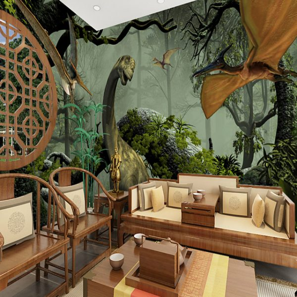 Dinosaur world Suitable for TV Background Wall Wallpaper Murals Living Room Cafe Restaurant Bedroom Office XXXL(448*280cm) #07323623